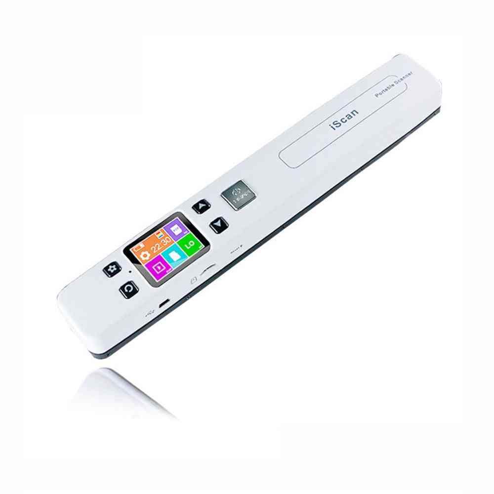 Document Scanner, Wifi Wireless Photo, Fine Resolution, Portable, Connected Jpg/pdf File Format