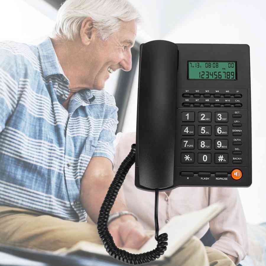 English Trade Call Desk/display Caller Id Telephone For Home Office Hotel Restaurant