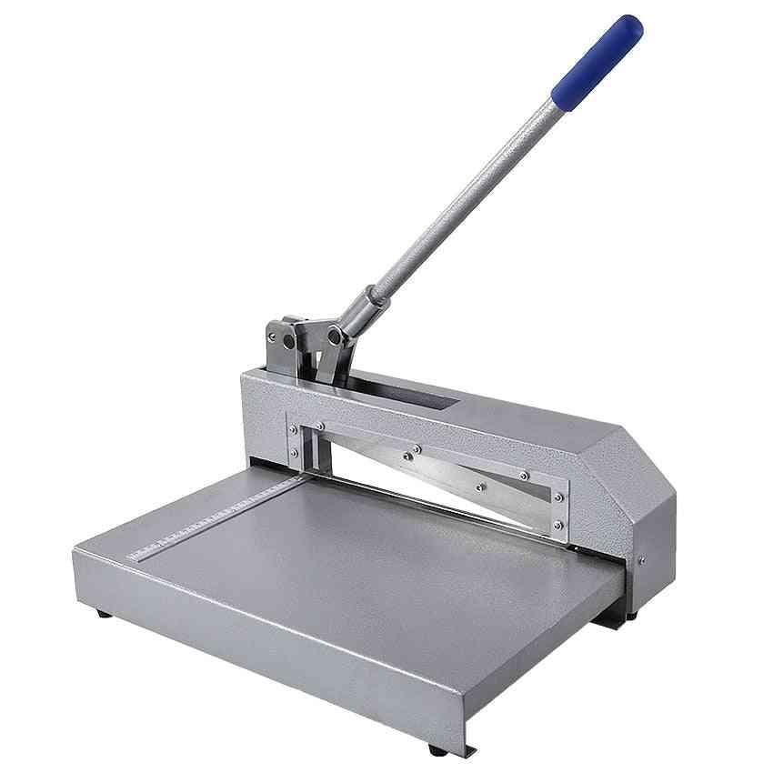 Heavy Duty Strong Shearing Cutting Knife Aluminum Sheet Cutter Machine