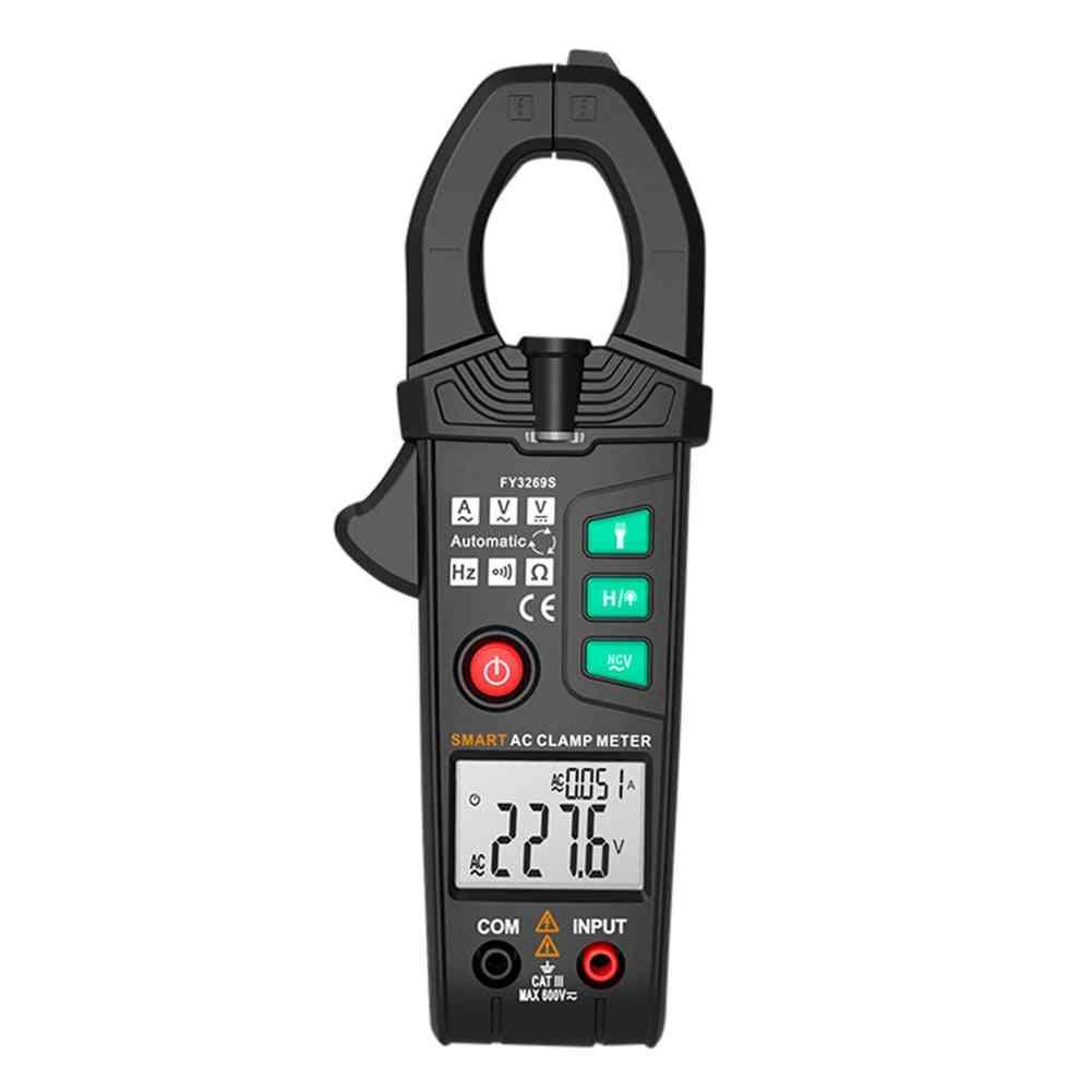 Digital Multimeter 6000-counts Current Clamp Voltmeter Ammeter Voltage Testers