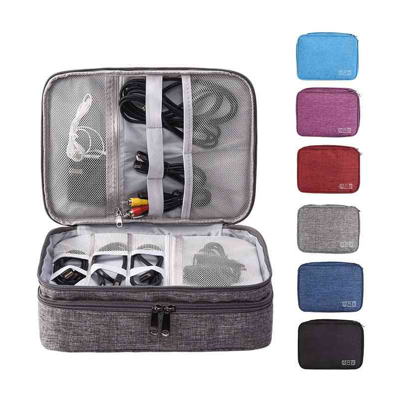 Electronic Accessories Organiser Travel Bag