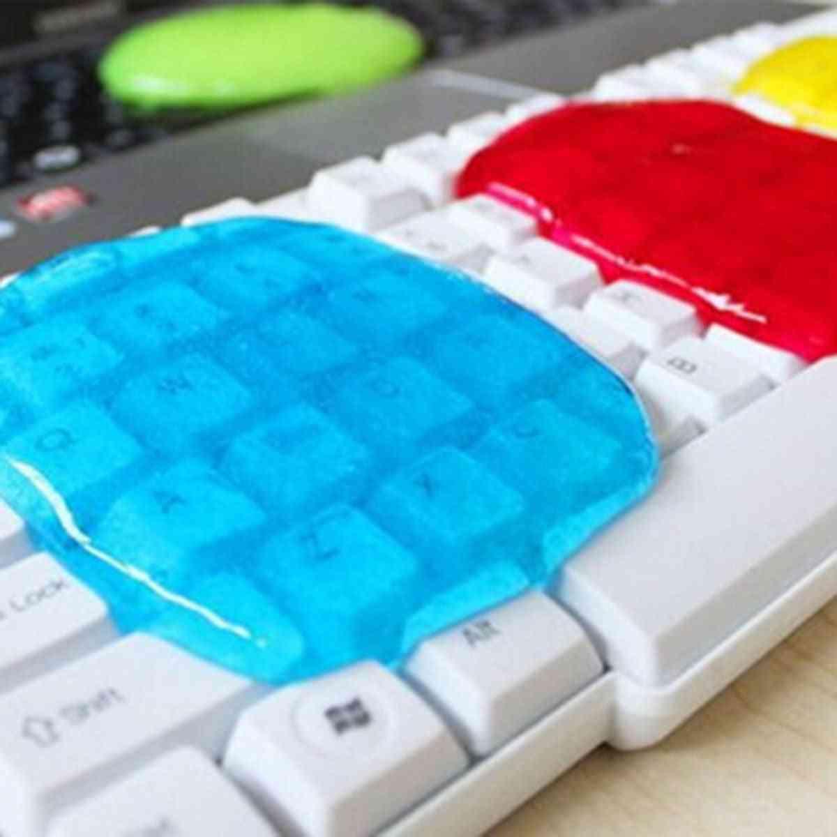 Magic Dust Cleaner Compound Super Clean Gel Laptop Pc Computer (random Color)