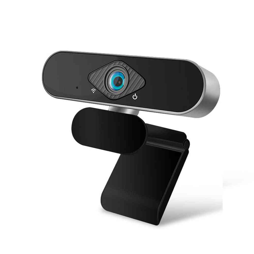 Usb Webcam, Camera Ultra Wide Angle, Auto Focus With Built-in Microphone For Laptop, Pc, Online Teaching