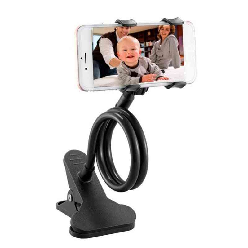 Universal Flexible Mobile Phone Holder- Desktop Mount Bracket Arm