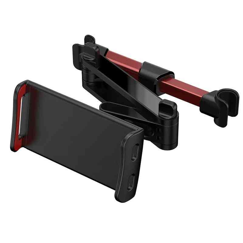 Flexible 360 Degree Rotating Car Pillow For Mobile, Tablet Holder Stand &headrest Mount Bracket