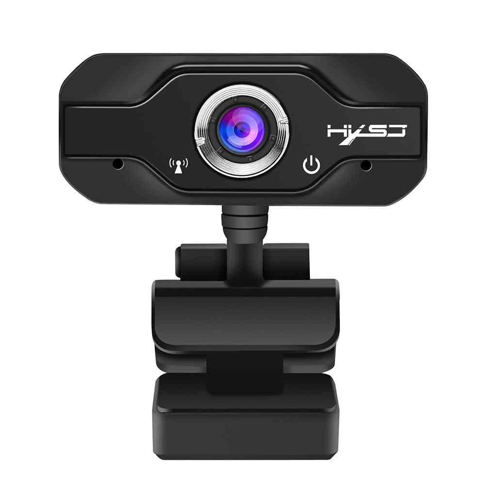 Mini Computer Pc Hd Webcam For Live Broadcast, Video Calling, Conference Work