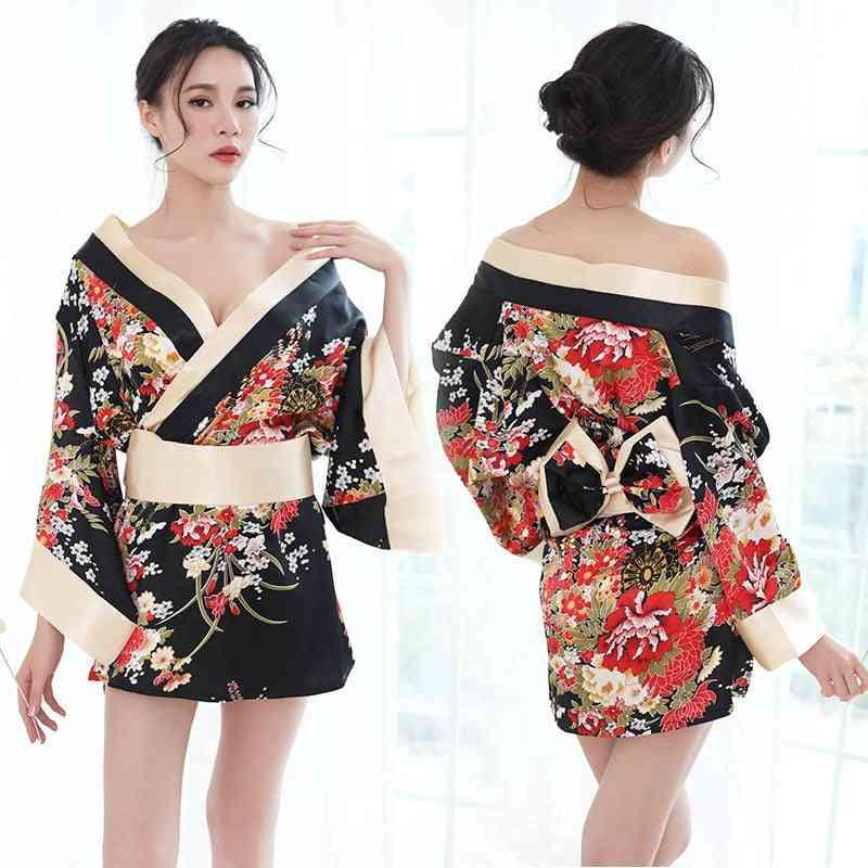 Kimono Nightgown Yukata For Woman