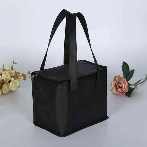Portable Lunch Bag Can Cooler Pack Food Packing Container, Thermal Insulated Bag