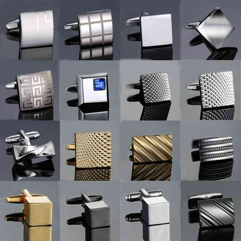 High-quality Hand Laser Cufflinks Man's French Suit Accessories
