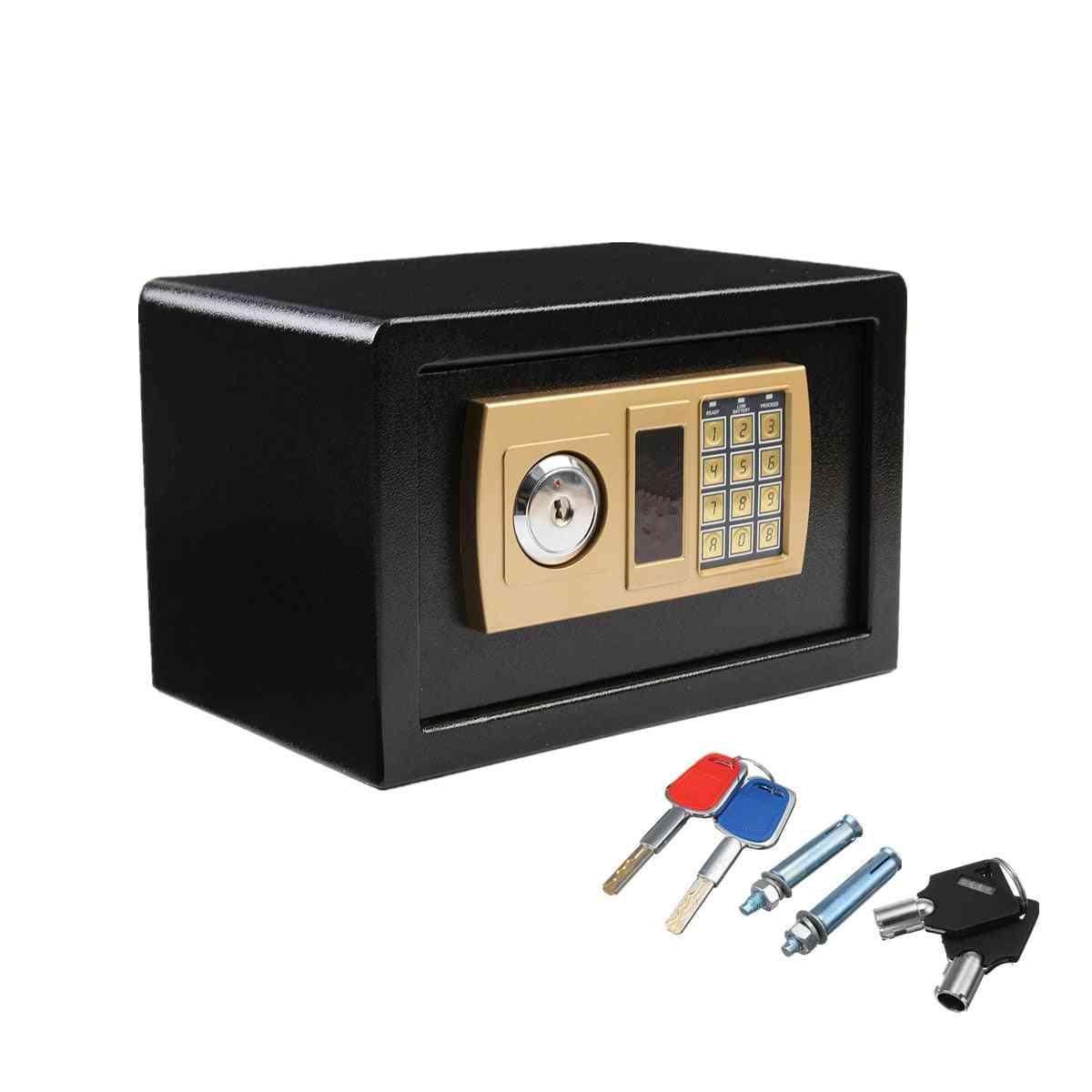 Digital Safe Box Fire Proof, Ideal Security Secret Electronic Password