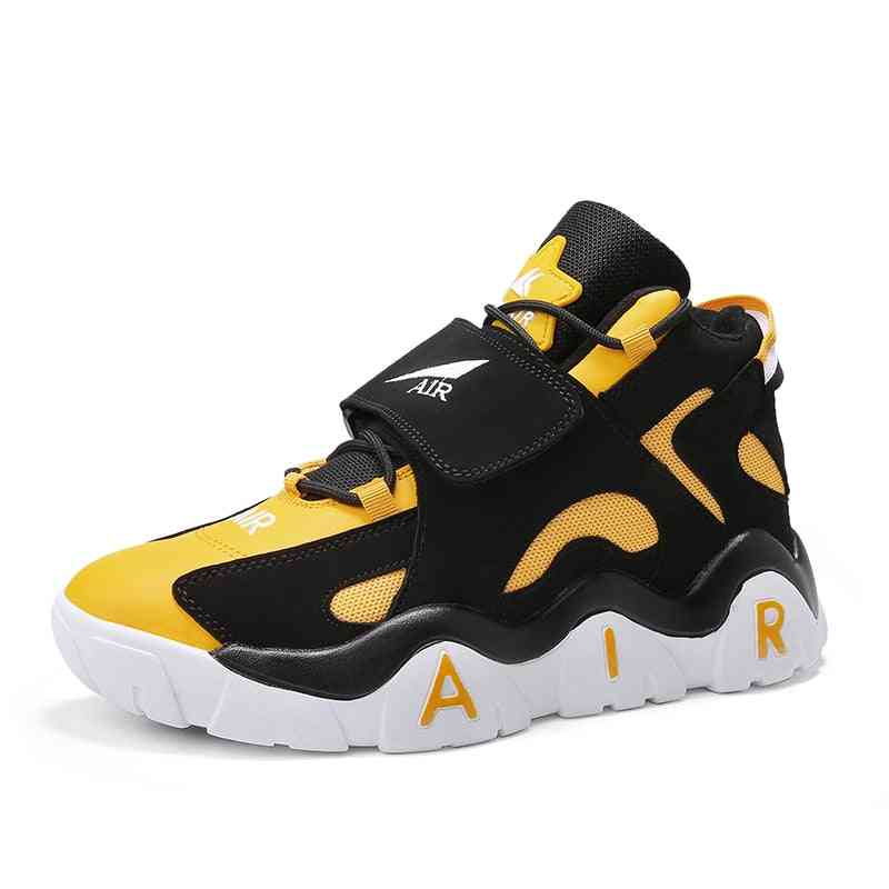Men Basketball Shoes, Outdoor Sport Training Air Damping Sneakers