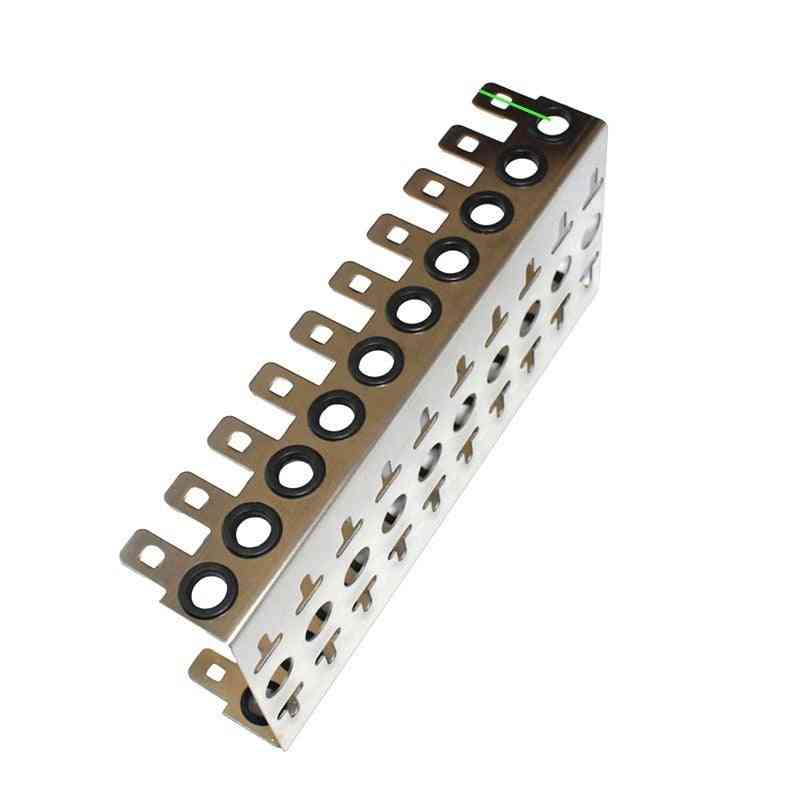 Thickened Stainless Steel Krone Voice Module Dedicated Iron Frame Telephone Snap-in Terminal Block