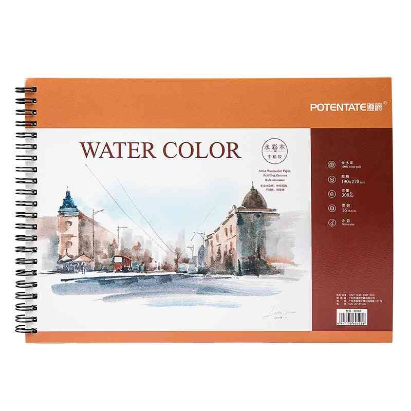 Artist Watercolor Paper Sketch Book For Oil Paiting/drawing