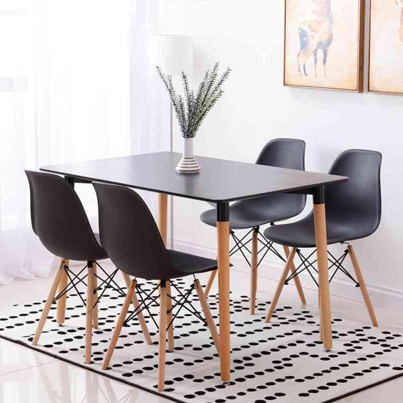 Nordic Minimalist Style, Dining Table Set
