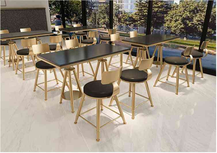 Bar Tables Nordic, Simple Cafe High Table & Chair