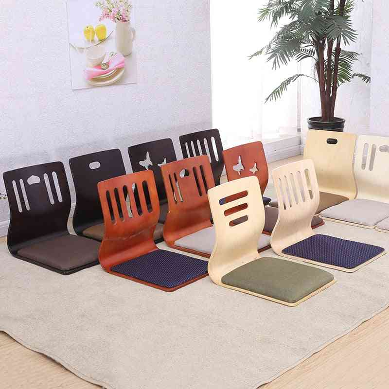 Floor Seating Chair With Cushion Seat-furniture For Living Room
