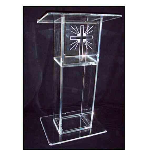 Clear Acrylic Lectern-podium