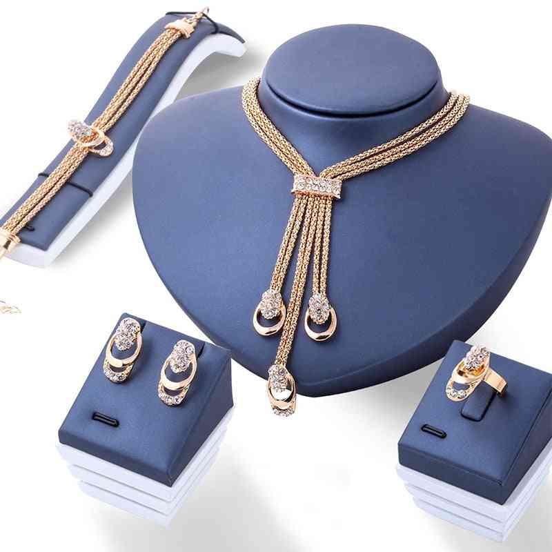 Fashion Jewellery Women - Necklace, Bracelet, Ring, Earrings