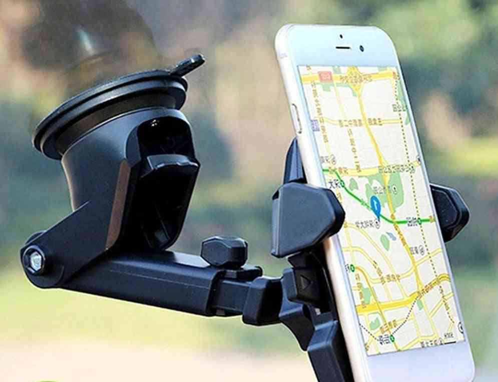 Universal Smartphone  Mount  Adjustable Phone Mounting Suction Cup Holder