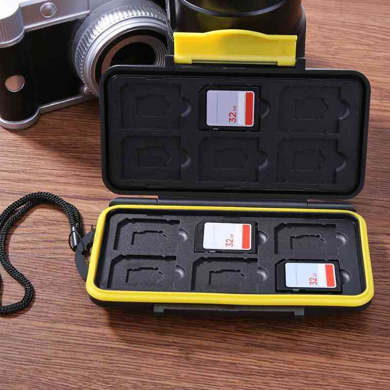 Waterproof Saving Deposit Cardshock-proof Memory, Sim Card Box Case Holder