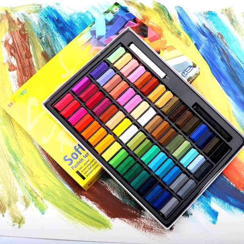 Drawing Line Stick Toner, Portable Smooth Hair Dye, Soft Short, Pastel Painting, Chalk Set