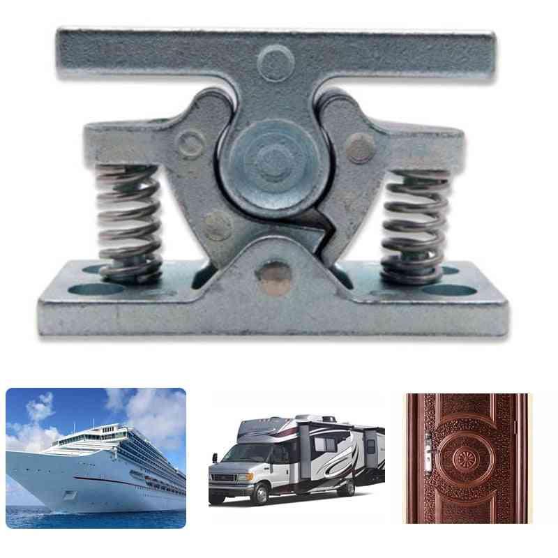 Zinc Alloy Door Stops Retainer Catch For Caravan Motorhomes Boat Hardware Clip
