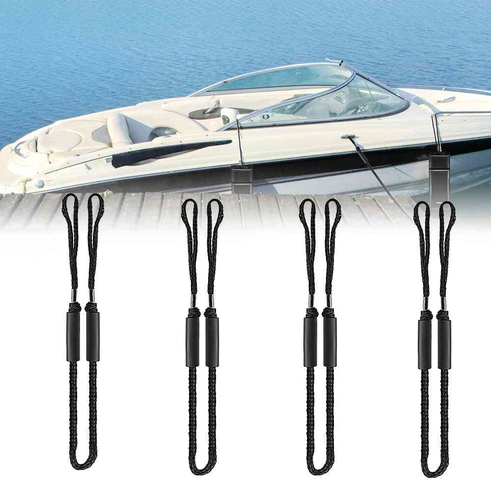 Universal Boat Bungee Dock Line Docking Rope, Stretching Mooring Ropes