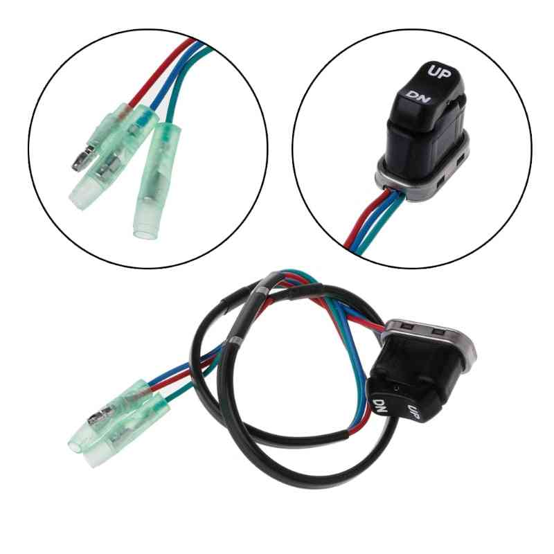 Trim & Tilt Switch Assembly, Outboard Remote Controller