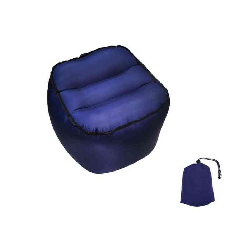 Portable Nylon Inflatable Stool Air Chair