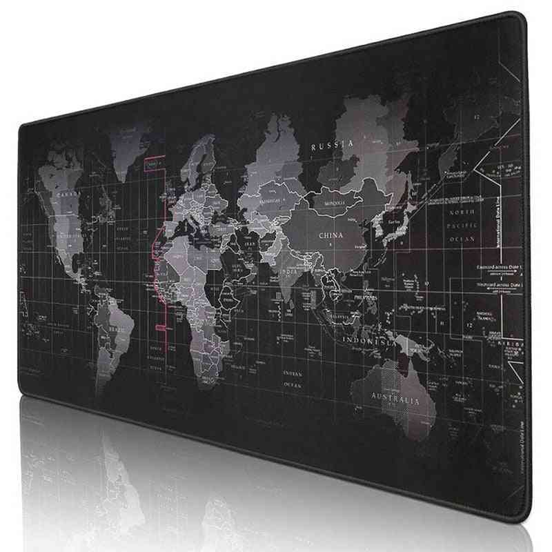 Old World Map Large Gaming Mouse Pad
