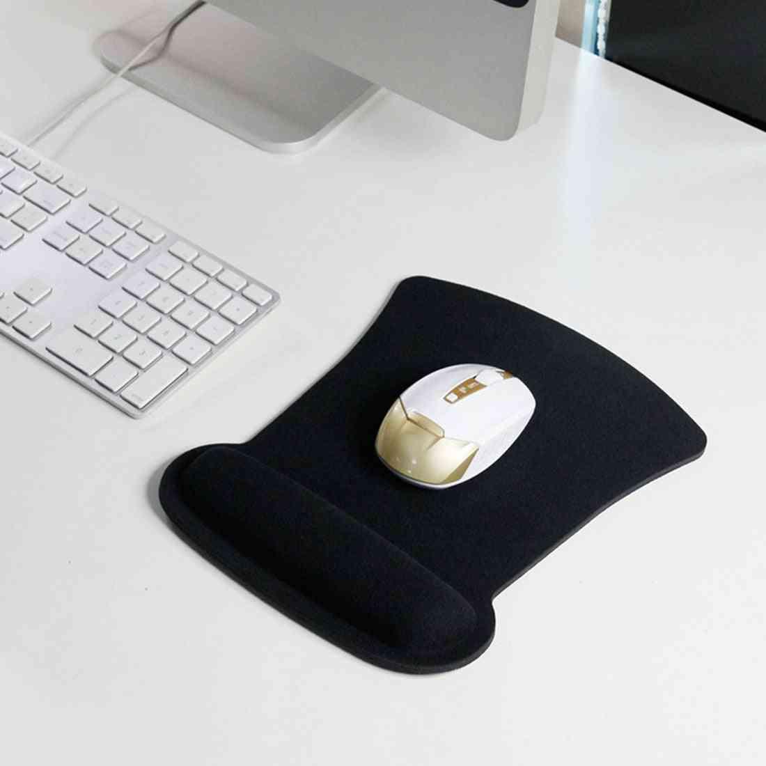 Soft Sponge Wrist Rest Mouse Pad