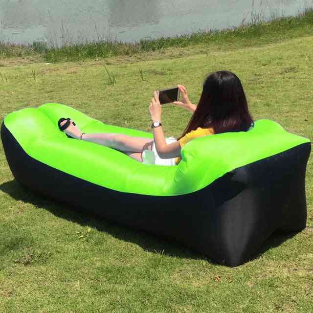 Outdoor Lazy Couch Fast Inflatable Air Sofa Bed