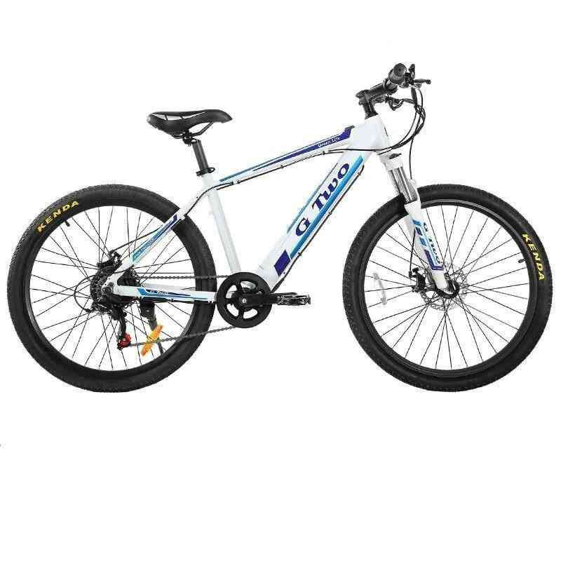 Powerful Electric Mountain Bike