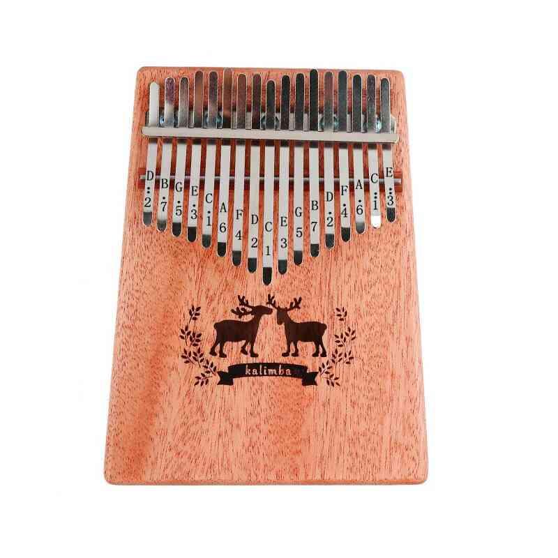 17-key Kalimba Thumb Finger Piano-musical Instrument Kit