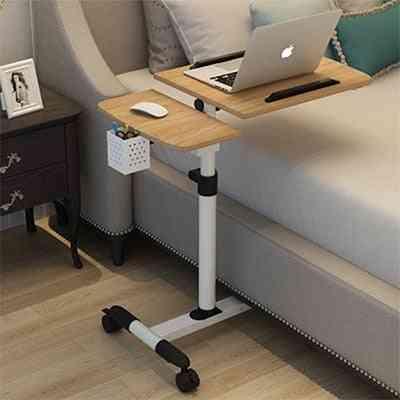 Foldable Computer Table Adjustable Portable Laptop Desk Rotate Bed Table Can Be Lifted Standing Desk