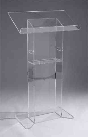 Exquisite Acrylic Lectern Podiums Church Pulpit Podium Lectern