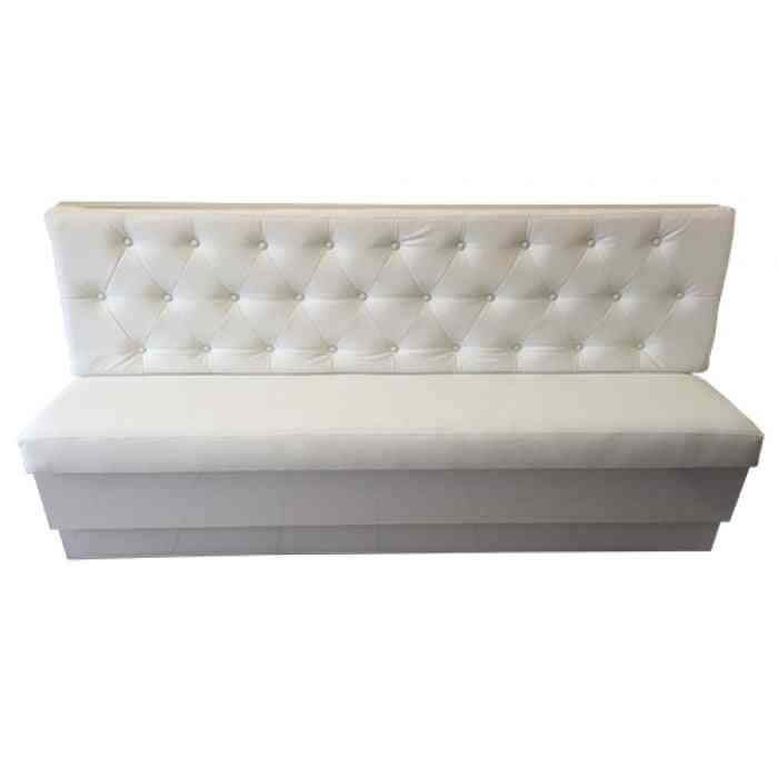 Salon Furniture/waiting Sofa Of 4-seater & Waiting Chair