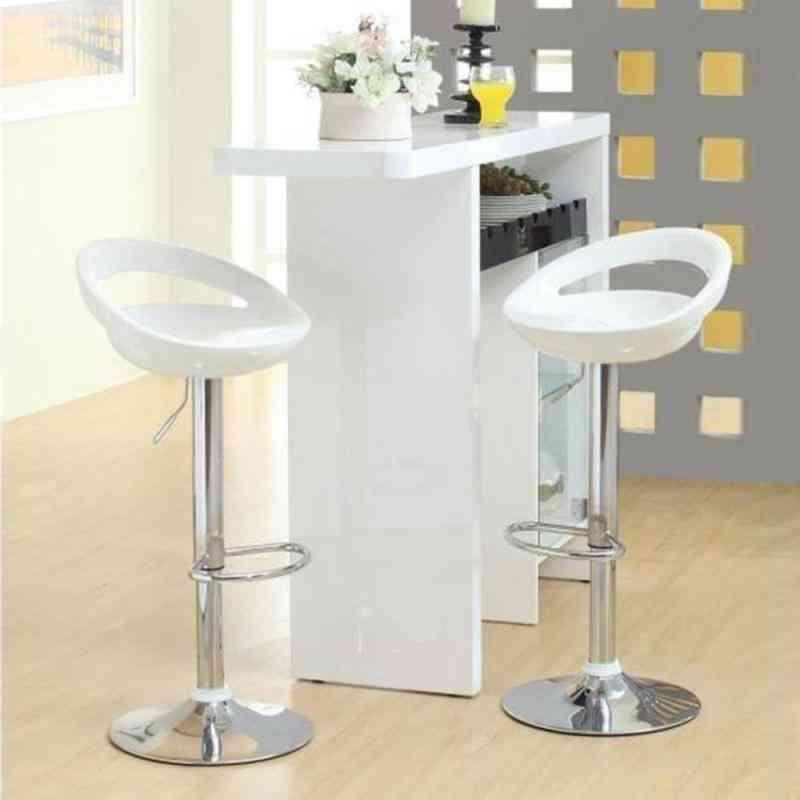 Kitchen Chair, Leisure Leather Adjustable Stool