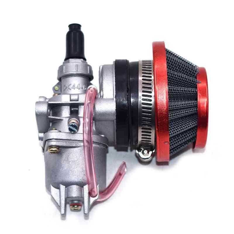Engine Carb Carburetor With Pod Air Filter For Mini Quad Atv Dirt Bike
