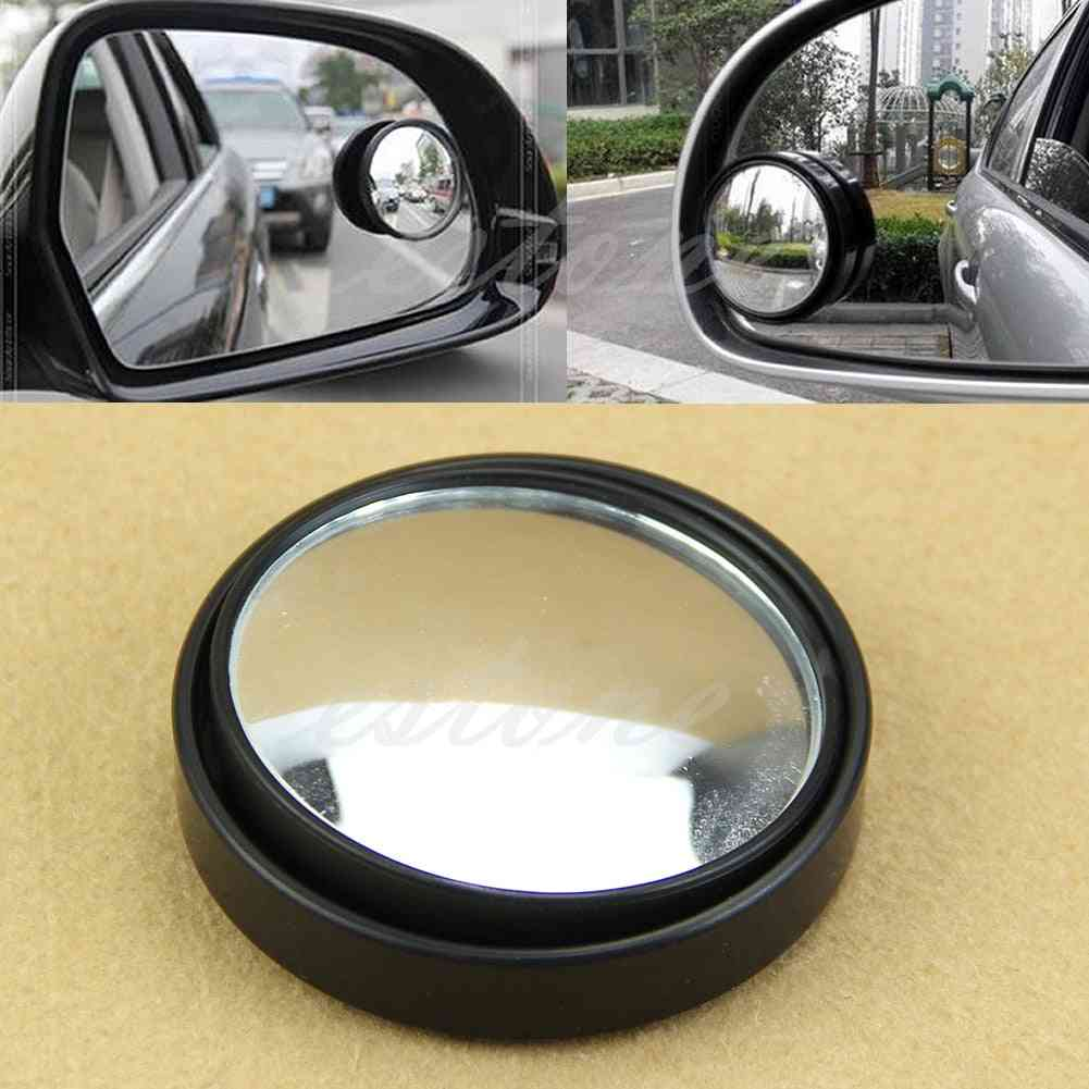 New Round Wide Angle Convex Blind Spot Mirror Rear View Messaging Car Vehicle