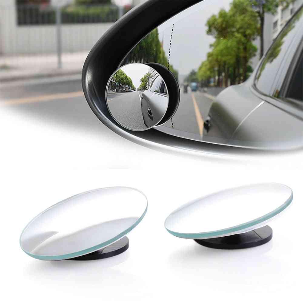 Hd Blind Spot Reverse Frameless Ultrathin Mirror For Car