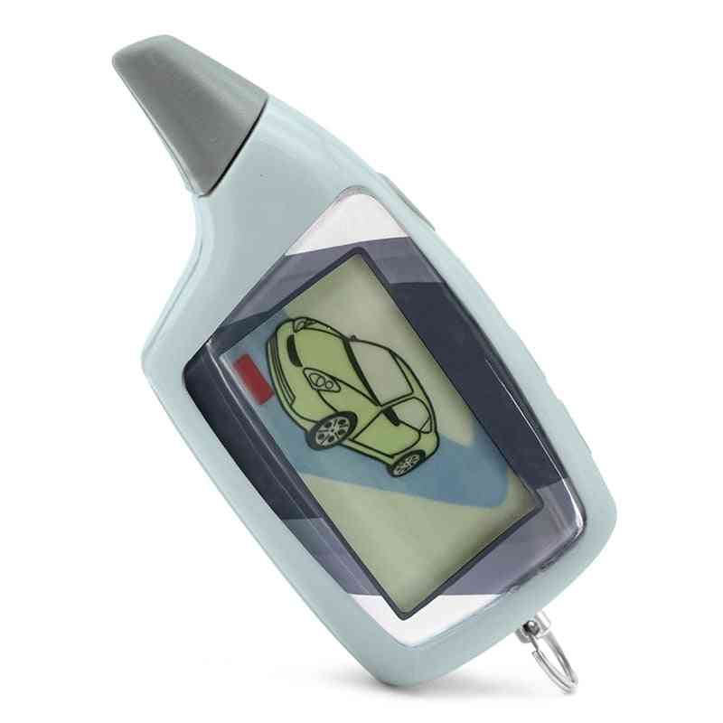 M5 Scher-khan M5 Magicar 5 Keychain Lcd Two Way Car Alarm System Remote Control Fm Transmitter