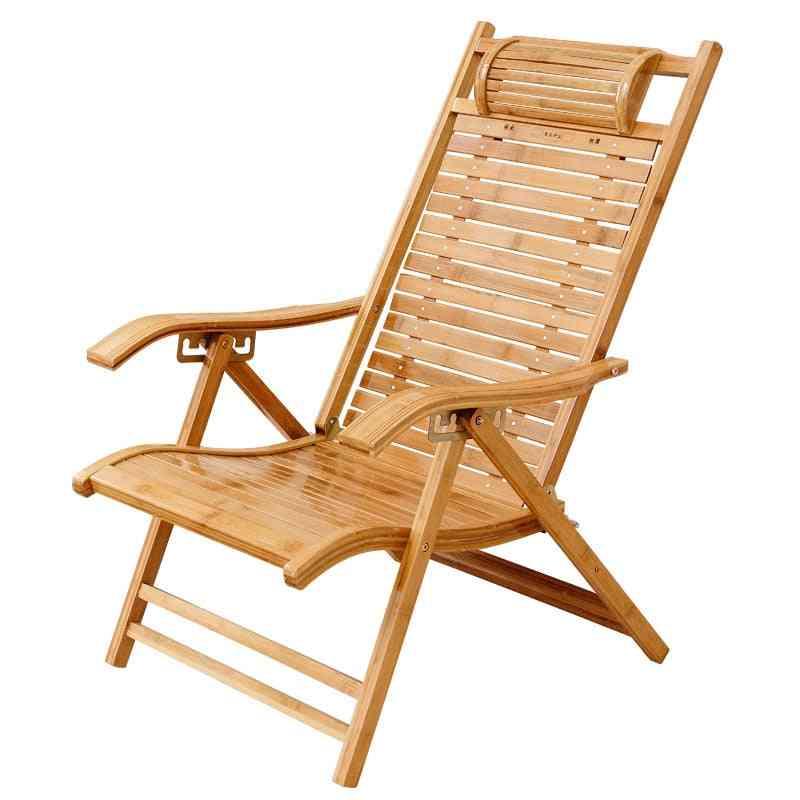 Modern Foldadble Bamboo Garden Chair