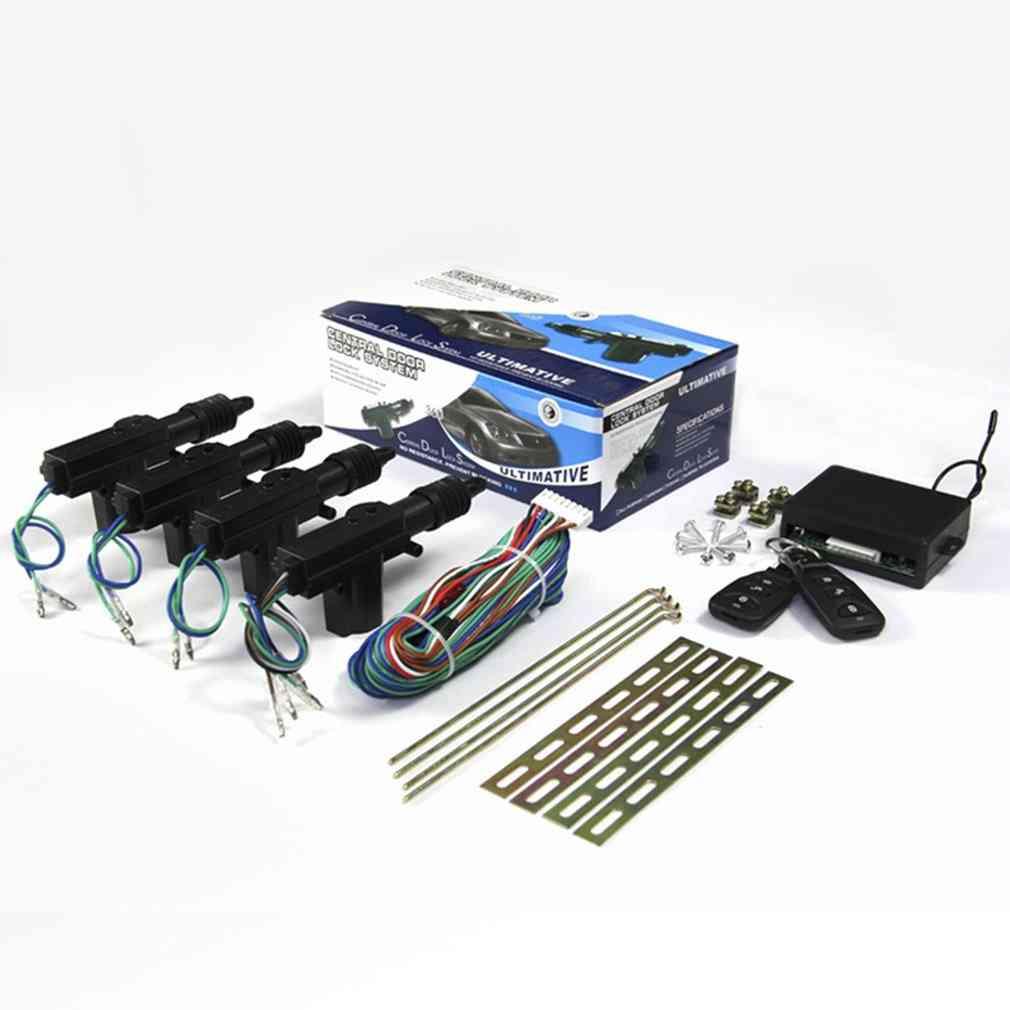 Universal Car Door Lock Keyless Entry System Remote Central Control Locking Kit