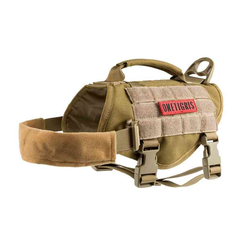 Tactical Dog Harness No-pull Training Large With Handle