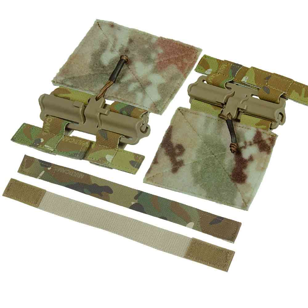 Tactical Hunting Vest Universal Molle Removal Buckle Set Accessories