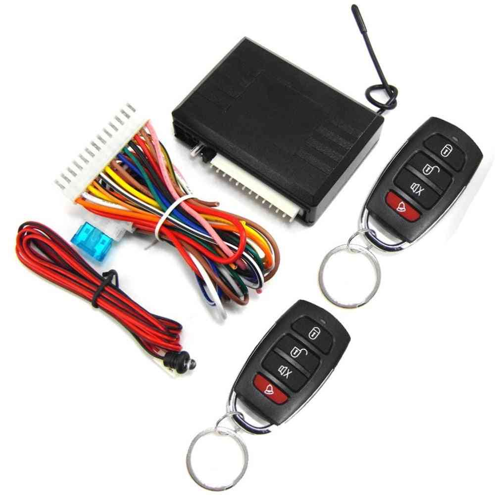 Universal Car Remote Central Kit Anti-theft Door Lock With Controllers