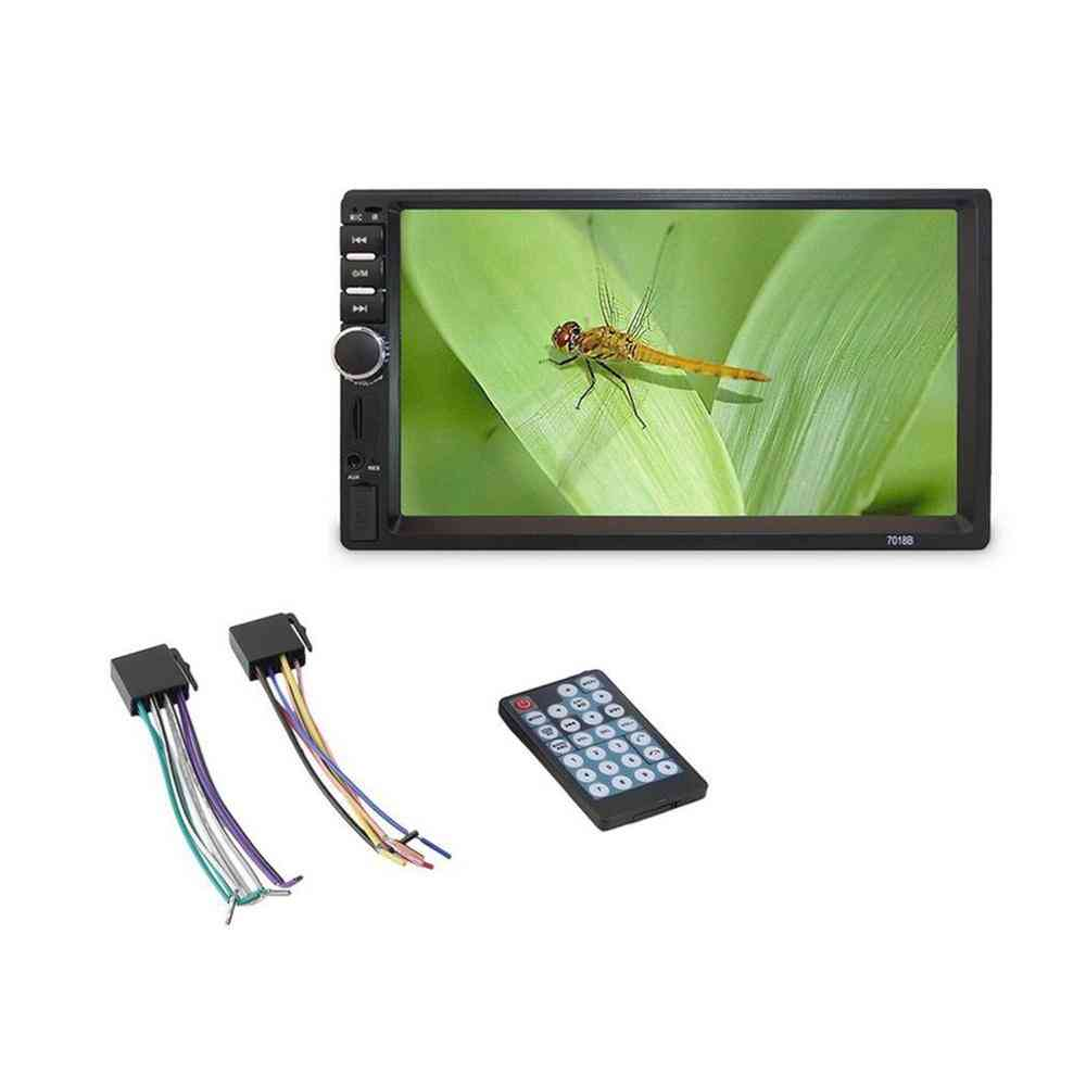Double Din Car Fm Stereo Radio Mp5 Player Touch Screen Multimedia Usb
