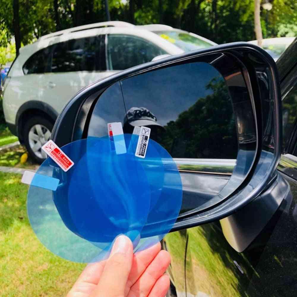 Rainproof Anti-fog Car Rearview Mirror Film Sticker Protective Rain Shield Side Window