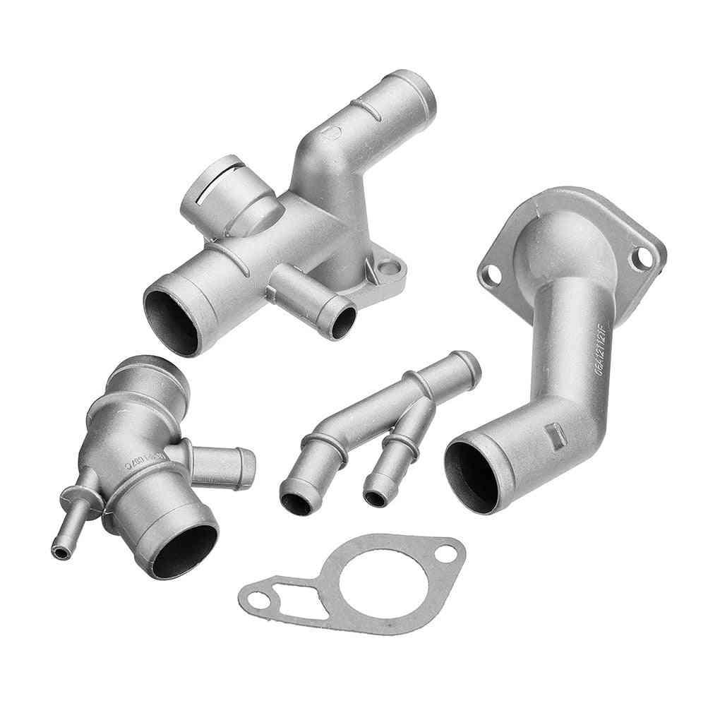 Replacement For Mk4 1.8t Tt Aluminum Coolant Flange Kit